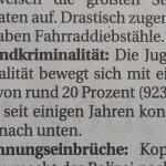 Jugendkriminalität 16.02.2016