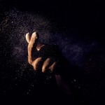 hand-dust-flour-chalk